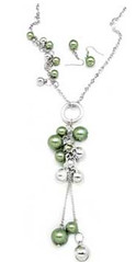 Glimpse of Malibu Green Necklace K1A P2810A-2