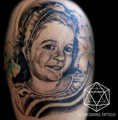 Child Portrait Black and Grey Tattoo 2 (13.22 Tattoo Studio) Tags: old uk portrait baby moon west flower colour london eye art clock geometric church girl rose closeup tattoo illustration angel skeleton religious foot japanese skull photo artist ship child hummingbird hand veil heart arm mechanical lotus geometry buddha watch fine feather bigben bio superman line xmen batman pharaoh rib script custom handprint sleeve logos compass gentleman pac dreamcatcher realism chicano coverup realistic triforce sourgrapes eygptian blackandgrey s0urgrapes