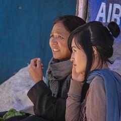 Leh, Main market, portraits (vio trieves) Tags: portraits leh ladakh