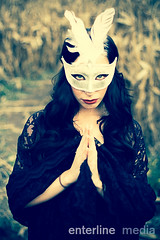 darkangelweb-19 (enterlinemedia) Tags: white black dress mask lace feather darkangel cornmaze halloweenmask carnivalmask prayingangel adobelightroom creativeshoots lightroom4edits fritzcornmaze