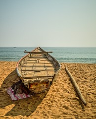 Life of fishermen (Sougata2013) Tags: life sea india beach boat nikon fishermen sleep lifestyle rest ganjam bayofbengal gopalpur seabeach nikond3200 gopalpuronsea odisha