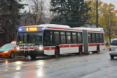 TTC NovaBus LFS Artic #9108 (SteveC123!) Tags: bus public nova rain ttc transit articulated bendy articulatedbus novabus lfsa lfsartic
