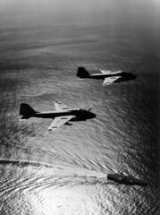 A-6 Intruders in-flight (skyhawkpc) Tags: inflight aircraft aviation navy naval usnavy usn intruder grumman unkbuno