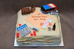 70th Birthday cake (Eldriva) Tags: luggage bingo baileys 70th