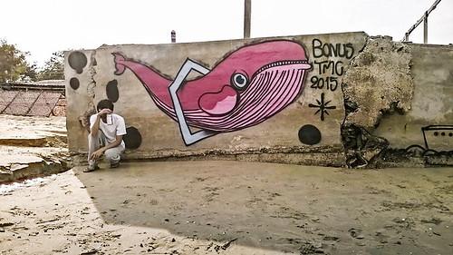 Pink Whale by Bonus TMC