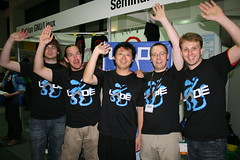 FOSSASIA LXDE Meetup at Linuxtag Berlin with Andrew Lee, Mario Behling, Christoph Wickert (FOSSASIA) Tags: berlin opensource 2010 linuxtag andrewlee lxde fossasia christophwickert lxdefoundation