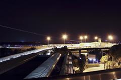 Terminal B - Orlando International Airport (MCO) (Matty 8o) Tags: b night canon orlando airport long exposure florida dal delta terminal international nightshots 1855mm dl mco b737 md80 700d