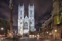 London Westminster Abbey (david.bank (www.david-bank.com)) Tags: city uk england urban london westminster abbey architecture night worship god religion landmark