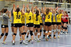 GO4G6212_R.Varadi_RVaradi (Robi33) Tags: game girl sport ball switzerland championship team women action basel tournament match network volleyball block volley referees viewers