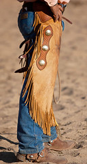 ranch_chaps_44 (ORcowboy52) Tags: spurs cowboy boots wranglers chaps chinks
