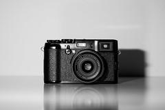Fuji X100 Limited Edition (LKirjavainen) Tags: bw white black canon fuji fujifilm product limited edition cameraporn x100 canoneos5dmarkii fujix100