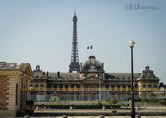 Ecole Militaire And Eiffel Tower