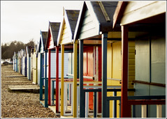 Beach huts (Maw*Maw) Tags: beach shop photoshop canon eos colours shed overlay hut phot sheds cs6