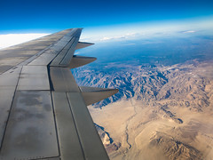 Leaving San Diego (mikper) Tags: california usa sandiego aircraft delta boeing 757 ocotillo kalifornien deltaairlines boeing757200 wingview ksankatl