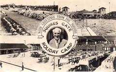 Squire Gate Holiday Camp, Blackpool (trainsandstuff) Tags: vintage postcard retro lytham archival blackpool pontins holidaycamp squiresgate