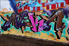 Neka (Alex Ellison) Tags: urban graffiti boobs halloffame graff trellicktower hof westlondon neka 1t nekah neks