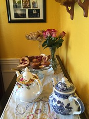 Tea Time! Lexington, KY (hyphenated_czech) Tags: pears tea lexington kentucky southern teapots scones teatime teaparty southernstyle