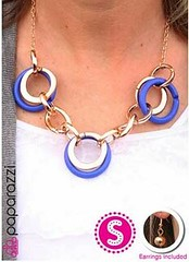 Glimpse of Malibu Blue Necklace K2A P2720A-5