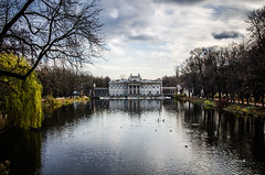 Palace on the water (kubek1976) Tags: park water nikon bath poland palace kings warsaw warszawa