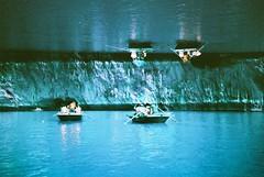 Vnh H Long (Shoji Kawabata. a.k.a. strange_ojisan) Tags: world 35mm photography bay photo lomo lca lomography asia long exposure purple doubleexposure double vietnam viet chrome 400 100 ha hanoi nam