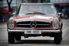 Mercedes-Benz W113 280SL SL280 Pagoda (Ben Molloy Automotive Photography) Tags: show road hk classic car club vintage photography pagoda ben automotive hong kong mercedesbenz vehicle molloy sl280 280sl chater w113 ccchk