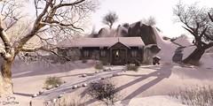 Winter@Frisland (Sannita_Cortes) Tags: winter snow ice sl secondlife virtual virtualworld virtuallandscape virutal frisland virtualnature