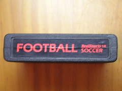 atari 2600  Football soccer RealSports (coruxacoruxa) Tags: atari 2600 cartridge footballsoccerrealsports