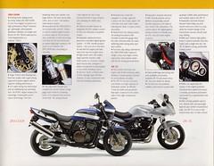 Kawasaki 2002 ZRX1200 (Cory Gurman) Tags: 2002 vintage naked retro motorcycle 1200 eddie sales brochure kawasaki pamphlet lawson zrx gpz zrx1200