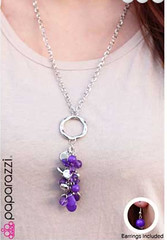 Glimpse of Malibu Purple Necklace K1 P2410-3