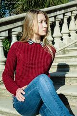 Primera sesion exterior! (DreamsFotografia) Tags: barcelona canon eos chica retrato modelo sesion 450d