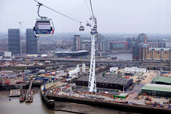 View to the north (Lars Plougmann) Tags: england london thames unitedkingdom cablecar gb dscf9665