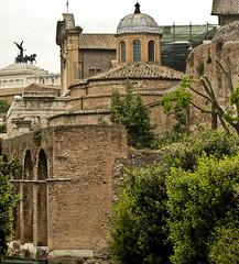A2644ROMb (preacher43) Tags: italy rome temple roman basilica forum constantine romulus maxentius