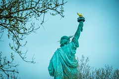 Statue of Liberty (Douglas Gomez) Tags: new york city nyc statue liberty cloudy sony alpha a7ii a7m2