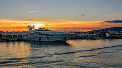 Cannes, France (Roman's pixels) Tags: sunset france boat cannes ctedazur d750 goldenhour frenchriviera