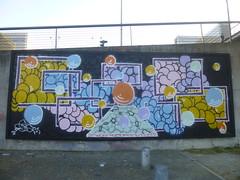 Mosa au M.U.R. XIII (avril 2016) (Archi & Philou) Tags: mosa paris13 paintedwall murpeint palteam murxiii