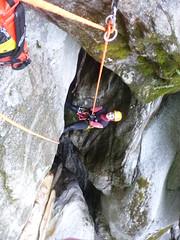 P1120421 (Mountain Sports Alpinschule) Tags: blue mountain sports lagoon canyoning zillertal zemmschlucht alpinschule