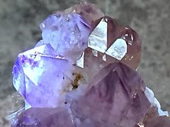 Amethyst Crystals (Rinny1959) Tags: rock stone crystals purple amethyst gem