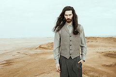 For Vangardist Magazine #59 / 04 / 2016 (KDZN) Tags: brown male fashion canon hair beard long desert tunisia business ong jmal 5dmark2