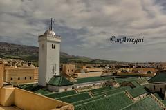 Huele a oracin (mArregui) Tags: nikon fez mezquita marruecos tejado marruecosencolores elcolordemarruecos wwwarreguimeluscom marregui