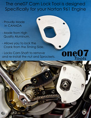 ONE07 - CAM LOCK (Richard-7) Tags: norton tools motorcycle commando 961 one07