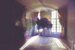Dream Of Flying  (Pauline L photographe) Tags: light shadow france fairytale decay urbandecay fineart dream fairy fineartphotography urbex imaginarium sigma1020 fairydream fineartphotographer canonfrance canon7d castelabandonned