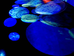 Monday Fullmoon (losy) Tags: blue circles floating fullmoon monday kreise losyphotography