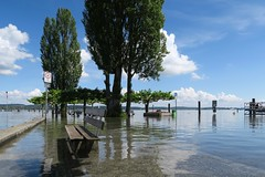 Ermatingen - Harbor (Kecko) Tags: lake water geotagged schweiz switzerland see harbor flooding wasser suisse flood harbour swiss kecko ostschweiz svizzera hafen bodensee tg hochwasser 2016 lakeconstance thurgau ermatingen untersee swissphoto geo:lon=9084990 geo:lat=47674490