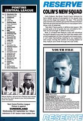 Coventry City vs Luton Town - 1991 - Page 34 (The Sky Strikers) Tags: road city blue sky magazine one town official division coventry pound peugeot league luton barclays highfield matchday