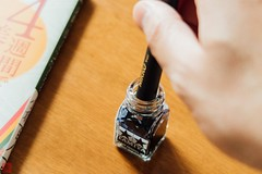 IMG_4498-11 (zunsanzunsan) Tags: 文房具 ペン インク 筆記具 文具 ステーショナリー つけペン ペン字 インキ