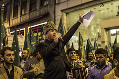 Protesting The Circassian Genocide (hehheh78) Tags: istanbul turkey circassian genocide russia politics politicalrally protest