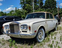 Not So Perfect Rolls-Royce (J Wells S) Tags: ohio abandoned classiccar cincinnati rusty rollsroyce crusty madisonplace fourdoorsedan davescompleteautorepair