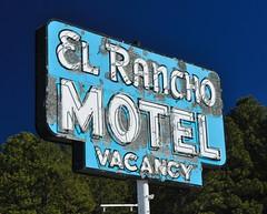 Perpetual Vacancy (pam's pics-) Tags: arizona signs sign hotel route66 neon lodging motel az smalltown motorinn elranchomotel vintagesigns motorlodge thewest motorhotel williamsarizona themotherroad pammorris pamspics divemotel nikond5000