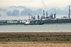 MV Whitchampion heading up Southampton Water (gail_heaton) Tags: boat vessel southamptonwater fawleyoilrefinery