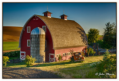 Palouse Barn (2JM6795-97) HDR (jwmunro) Tags: approved palouse washington barn landscape architecture